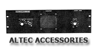 aLTEC aMPLIFIER aCCESSORIES SECTION